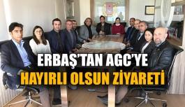 Erbaş'tan AGC'ye hayırlı olsun ziyareti