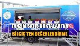 Tanzim Satış Noktaları'na Bilgiç'ten değerlendirme