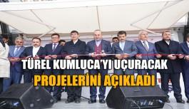 Türel Kumluca'yı uçuracak projelerini açıkladı