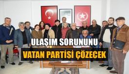 Ulaşım sorununu Vatan Partisi çözecek