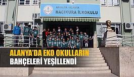 Alanya Belediyesi'nden Eko Okullar Projesine tam destek