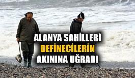 Alanya sahilleri definecilerin akınına uğradı