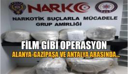 Alanya'da dev uyuşturucu operasyonu!