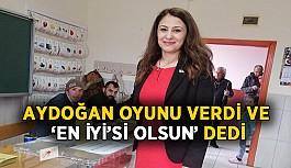 Aydoğan oyunu verdi ve 'En İYİ'si olsun' dedi