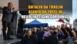 Bakan Çavuşoğlu, Türel ve Yücel birlikteliğine dikkat çekti