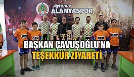 Bisiklet takımından Çavuşoğlu'na ziyaret