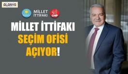 Millet İttifakı'nın Seçim Ofisi açılıyor