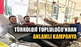 Türkoloji Topluluğu'ndan anlamlı kampanya