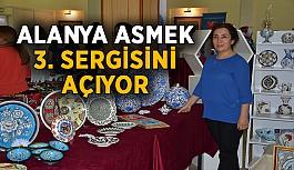 Alanya ASMEK 3. sergisini açıyor
