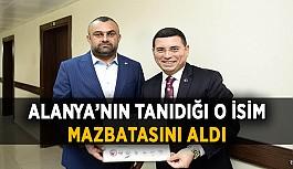 Alanya Ülkü Ocakları Eski Başkanı, Kepez'de mazbatasını aldı