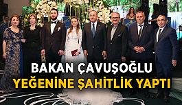 Bakan Çavuşoğlu Alanya'ya şahitlik yapmaya geldi