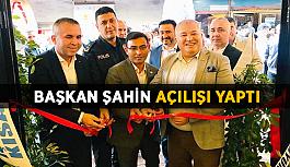 Başkan Şahin, Takıl Pide'nin açılışını yaptı
