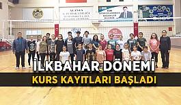 Belediyespor'da kurs kayıtları başladı