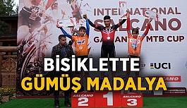 Bisiklette gümüş madalya kazandık