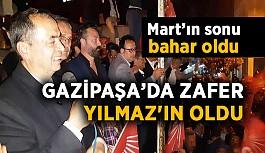 Gazipaşa'da zafer Yılmaz'ın oldu