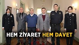 Güvenlik güçlerinden Başkan Yücel'e ziyaret