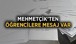 Mehmetçik'ten öğrencilere mesaj var