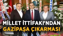 Millet İttifakı'ndan Gazipaşa çıkarması