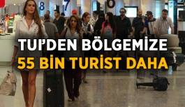 TUI'den bölgemize 55 bin turist daha