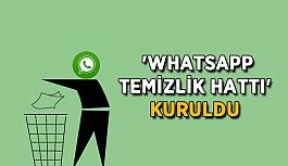 'Whatsapp  Temizlik Hattı' kuruldu