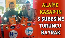 Alaiye Kasap'ın 3 şubesine birden turuncu bayrak