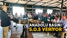 Anadolu basını S.O.S veriyor