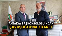 Antalya Başkonsolosu'ndan Çavuşoğlu'na ziyaret