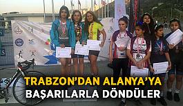 Trabzon'dan Alanya'ya büyük gurur