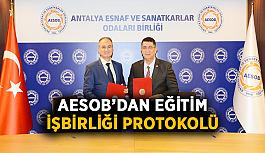 AESOB'dan Eğitim İşbirliği Protokolü