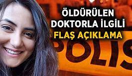 Akdeniz Üniversitesi'nden öldürülen doktorla ilgili açıklama