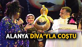 Alanya Diva'yla coştu