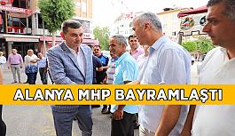 Alanya MHP bayramlaştı
