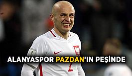 Alanyaspor Michal Pazdan'ın peşinde