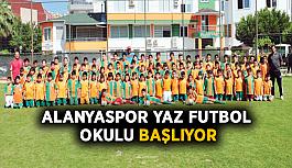 Alanyaspor Yaz Futbol Okulu başlıyor