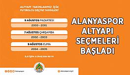 Alanyaspor'un altyapı seçmeleri başladı