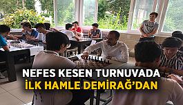 Nefes kesen turnuvada ilk hamle Demirağ'dan