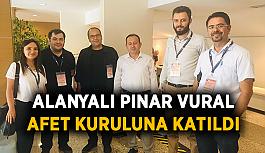 Pınar Vural Afet Kuruluna katıldı