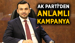 AK Parti'den anlamlı kampanya