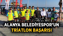 Alanya Belediyespor'un triatlon başarısı