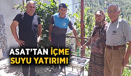 ASAT'tan içme suyu yatırımı