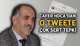 Cafer Hoca'dan o tweete çok sert tepki
