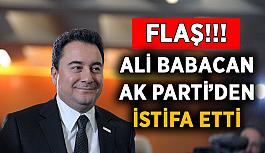 Flaş! Ali Babacan AK Parti'den istifa etti