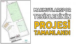 Mahmutlarspor Tesislerinin projesi tamamlandı
