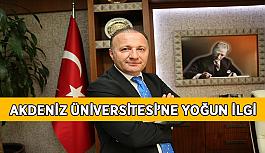 Akdeniz Üniversitesi'ne yoğun ilgi