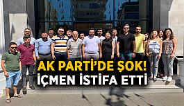 Alanya AK Parti'de şok! İçmen istifa etti