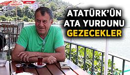 Atatürk'ün ata yurdunu gezecekler