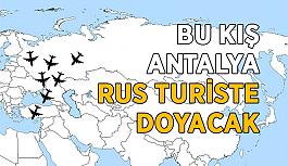 Bu kış Antalya Rus turiste doyacak
