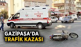 Gazipaşa'da trafik kazası