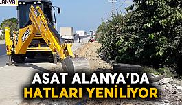 ASAT Alanya'da hatları yeniliyor