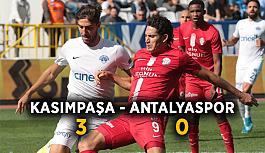 Kasımpaşa-Antalyaspor: 3-0